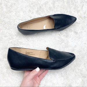 A New Day   Black Pointed Toe Mules